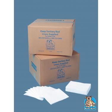 Papel protector higiénico para cambiador de pañales. Bobrick