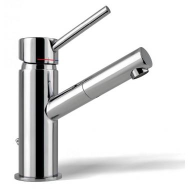 Grifo monomando para el lavabo con caño giratorio Serie 1100