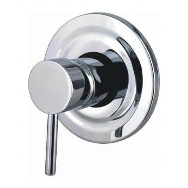 Grifo monomando redondo empotrado de ducha Serie 1100