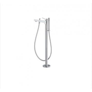 Grifo baño-ducha pie con accesorio de ducha serie Twit Galindo