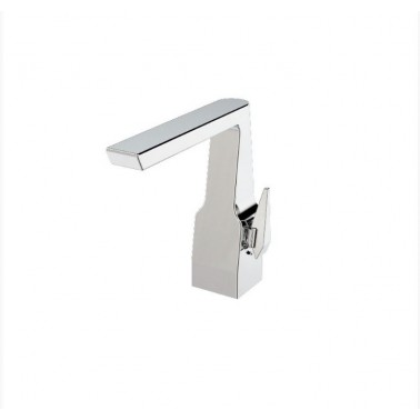 Grifo medio para lavabo monomando con apertura por maneta serie Alia Galindo