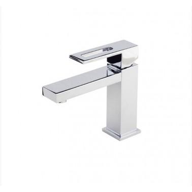 Grifo monomando de lavabo de apertura por maneta serie Nitro Galindo