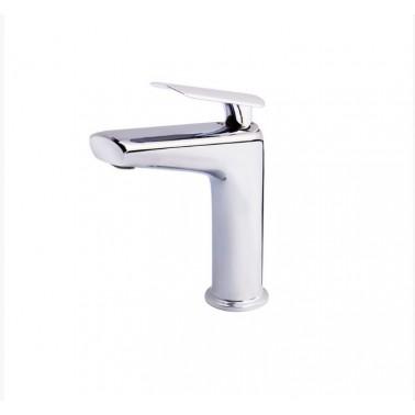 Grifo monomando para lavabo con apertura por maneta serie Kily Galindo