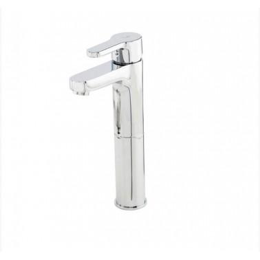 Grifo alto monomando eco para lavabo con apertura por maneta serie Zip Plus Galindo