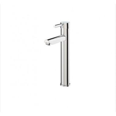 Grifo alto monomando para lavabo de apertura por maneta serie Theo City Galindo