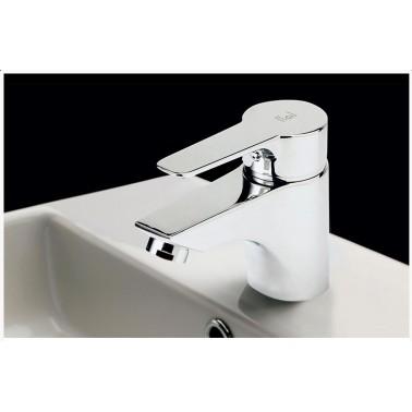 Grifo monomando lavabo para instalación en repisa serie Ingo Plus Galindo
