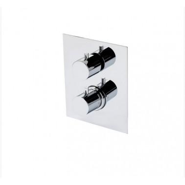 Mecanismo ducha termostático empotrable de 3 vías Galindo