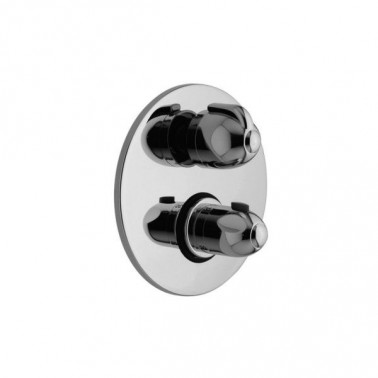 Mecanismo baño-ducha termostático empotrable de 2 salidas Galindo