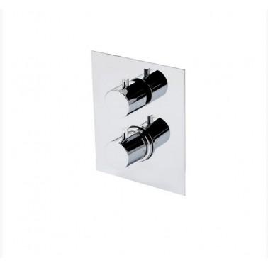 Mecanismo ducha termostático empotrable 1 vía Galindo