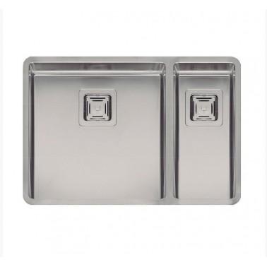 Fregadero de cocina de doble seno Texas 40×40 - 18x40 Galindo