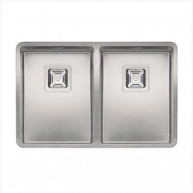 Fregadero de cocina de doble seno Texas 30×40 + 30x40 Galindo