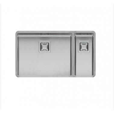 Fregadero de cocina de doble seno Texas 50×40 + 18x40 Galindo