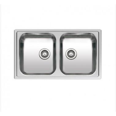 Fregadero de cocina doble seno Centurio L20 Galindo