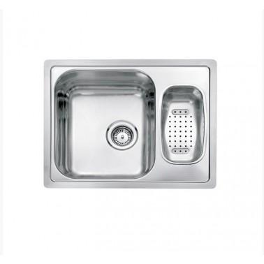 Fregadero de cocina un seno con escurridor Centurio L60 Galindo