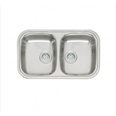 Fregadero de cocina de doble seno Regent 20 LUX Galindo