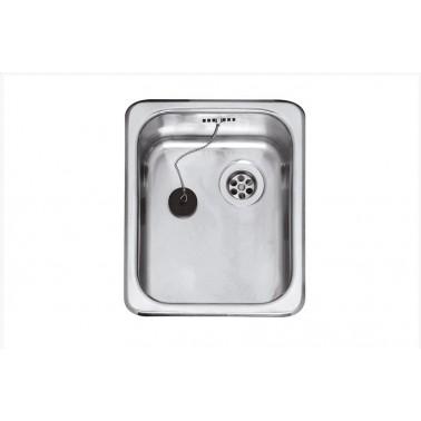 Fregadero de cocina de un seno R18 2330 Galindo