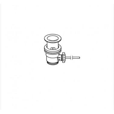 Desagüe automático latón de lavabo-bidé Galindo