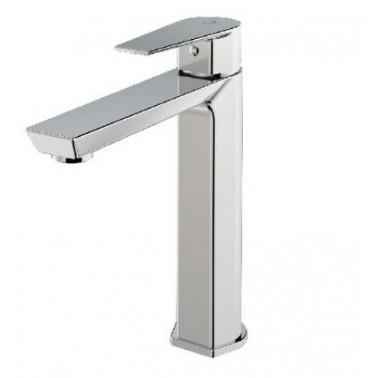 Grifo medio monomando para lavabo con apertura por maneta serie Aroha Galindo