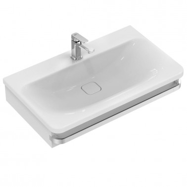 Estructura para lavabo de 80 en madera gris modelo Tonic II Ideal Standard