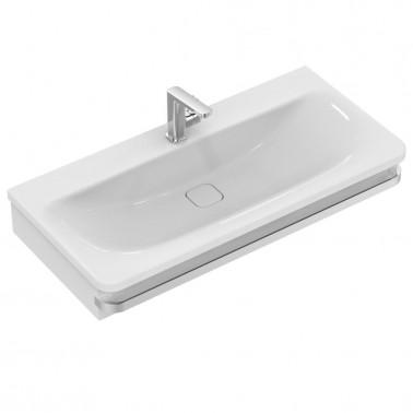 Estructura para lavabo de 100 en madera gris modelo Tonic II Ideal Standard