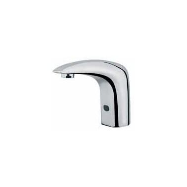 Grifo electrónico para lavabo con fotocélula