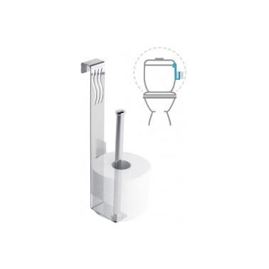 Portarrollos doble WC Cromados Modernos