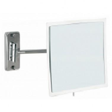 Espejo de aumento orientable de pared Cromados Modernos