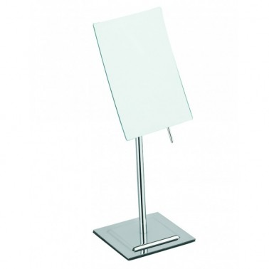 Espejo de aumento con peana Cromados Modernos