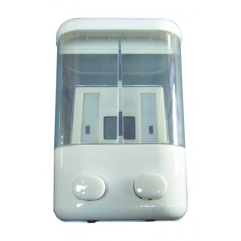 Dispensador de jabón líquido doble Cromados Modernos