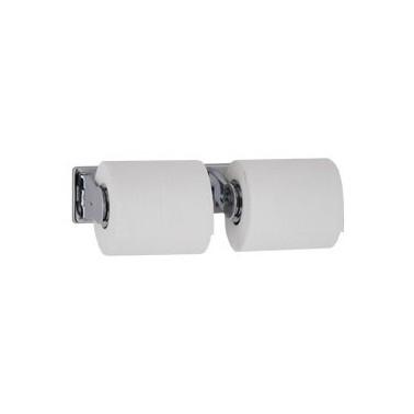 Dispensador de papel higiénico antivandálico para dos rollos Bobrick