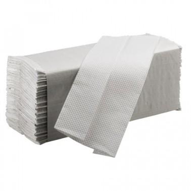 Paquete de toallas de papel plegadas marca Franke.