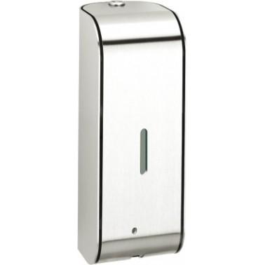 Dosificador de jabón electrónico en acero inoxidable con montaje a pared modelo XINOX marca Franke