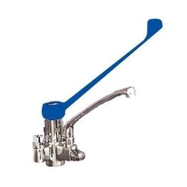 Válvula monomando de dos aguas con maneta gerontológica Fricosmos
