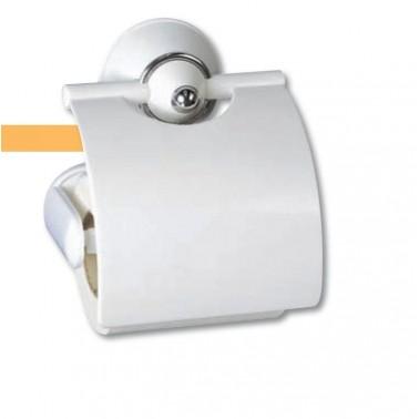 Portarrollos fabricado en ABS acabado blanco serie 2000 Komercia
