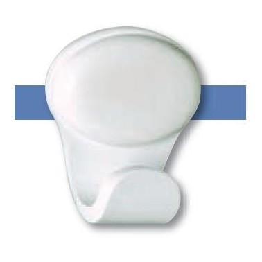 Percha fabricada en ABS acabado blanco serie 2200 Komercia