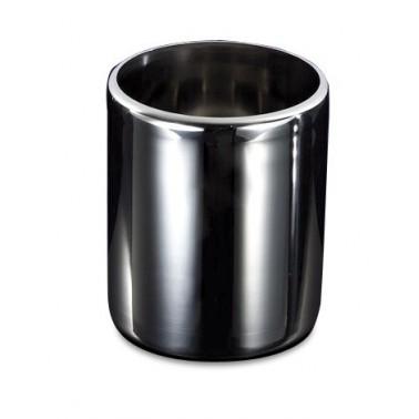 Cubeta para helado de acero inoxidable AISI 304 redonda de 250 mm de alto Fricosmos