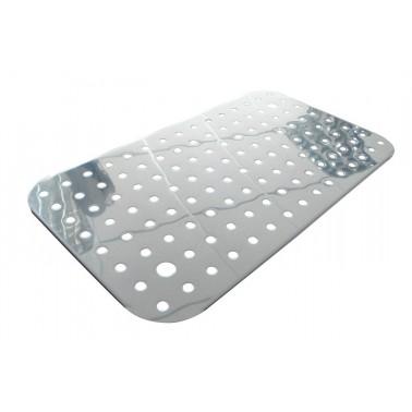 Fondo perforados para cubeta Gastronorm fabricado en acero inoxidable Modelo ½ Fricosmos