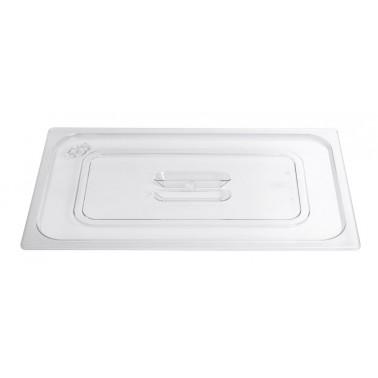 Tapa para cubeta Gastronorm fabricada en plástico de policarbonato Modelo 2/1 Fricosmos