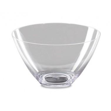 Cuenco fabricado en policarbonato transparente de 217x128 mm Fricosmos