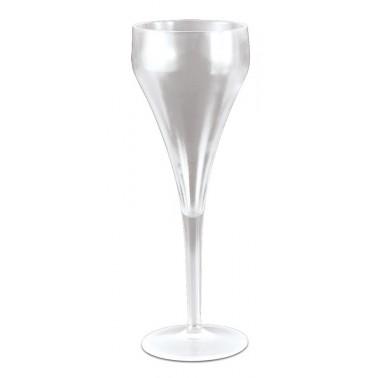 Copa fabricada en policarbonato transparente de 74x207 mm 18cl Fricosmos