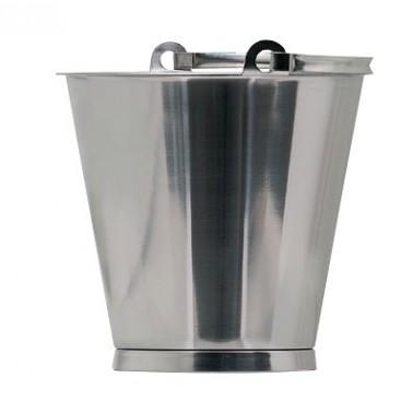 Cubo fabricado en acero inoxidable con capacidad de 10 litros Fricosmos