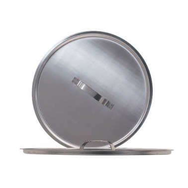 Tapa para cubo de acero inoxidable de 10 litros Fricosmos