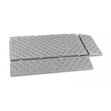 Rampa de loseta antideslizante 500x200x50 mm Fricosmos