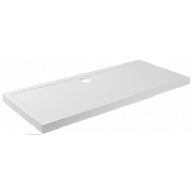Plato de ducha de 160x80 mm con ala de 7,5 cm modelo Open marca Unisan