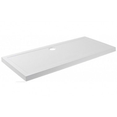 Plato de ducha de 170x75 mm con ala de 7,5 cm modelo Open marca Unisan