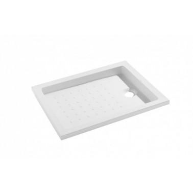 Plato de ducha de 100x80 mm con ala de 4 cm modelo Strado marca Unisan