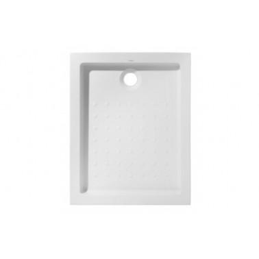 Plato de ducha de 100x90 mm con ala de 12 cm modelo Strado marca Unisan
