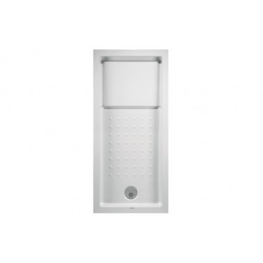 Plato de ducha de 160x80 mm con ala de 12 cm modelo Strado marca Unisan
