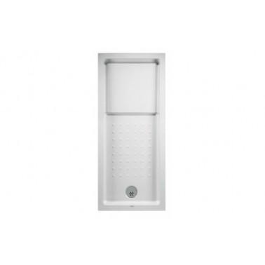 Plato de ducha de 170x80 mm con ala de 12 cm modelo Strado marca Unisan