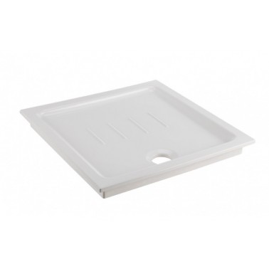Plato extra plano de escastre de 80 mm modelo Waterline marca Unisan